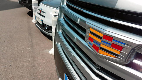 Cadillac Grille and Logo Image