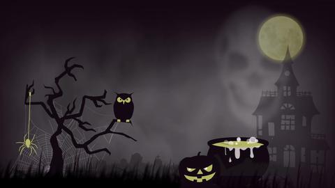 Halloween Background1 Footage