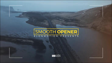 Smooth Opener Plantilla de After Effects