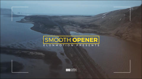Smooth Opener After Effectsテンプレート