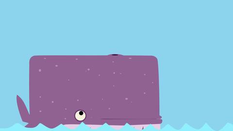 Whale Animación