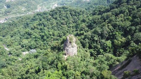 DJI MAVIC 4K Aerial Drone Video Taiwan Xinbei Siaozihshan Mother peak 20170917 8 Footage
