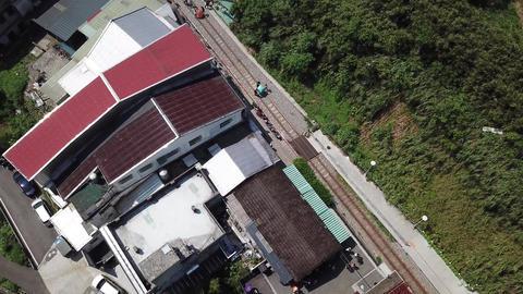 DJI MAVIC 4K Aerial Drone Video Taiwan Xinbei pingxi old street Sky Lantern ビデオ