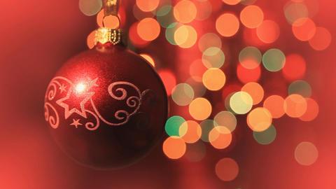 Christmas ball Footage