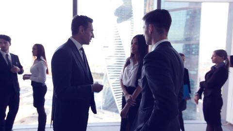 Business people meeting Footage