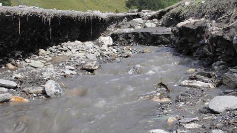 Landslide Alps Footage