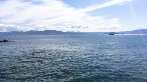 Seashore at Cies islands Live Action