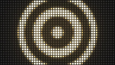 Strobe Lights Flashing VJ. Flickering Led Blinking Lights VJ Loop Animation