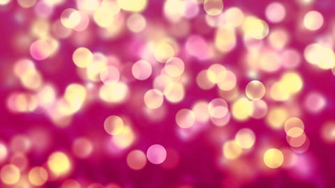 Purple Abstract Lights bokeh background loop CG動画素材