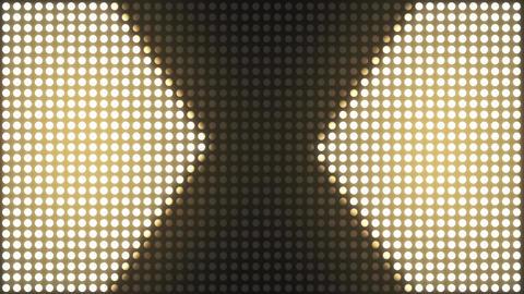 Strobe Lights Flashing VJ. Flickering Led Blinking Lights VJ Loop Animación