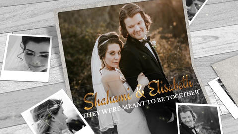 Wedding Slideshow Template folder After Effects Template