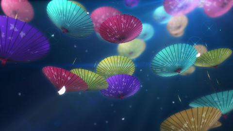 SHA Kasa Sakura 01 Animation