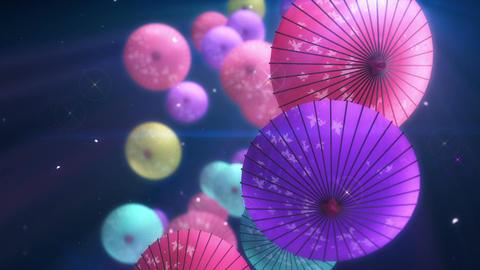 SHA Kasa Sakura 02 Animation