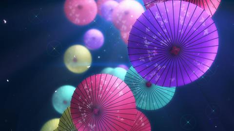 SHA Kasa Sakura 02 Stock Video Footage