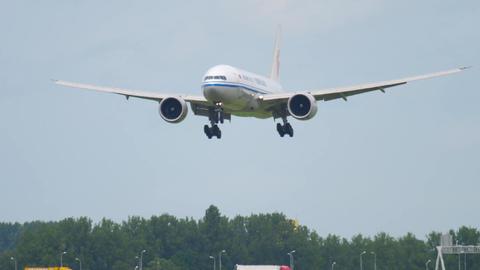 Air China Cargo Boeing 777 landing Image