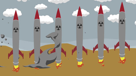 Firing Nuclear Missiles in a Desert Archivo