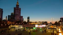 Warsaw City Centre Timelapse Warszawa Metro Centrum ビデオ