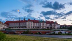 Warsaw Royal Castle Timelapse Warszawa Zamek Królewski Footage