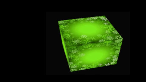 GREEN CUBE Animation