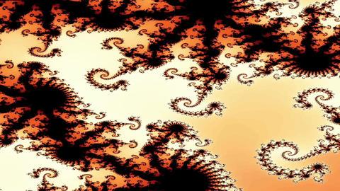 Digital Animation of a Fractal Shape Animation