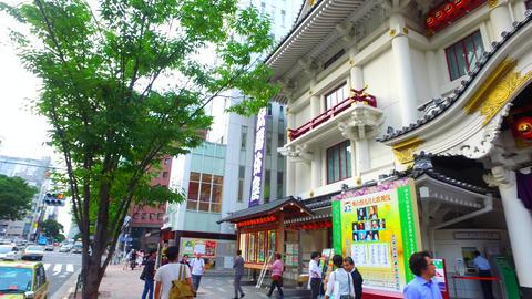 Spin shot of Kabukiza Tokyo Japan ビデオ