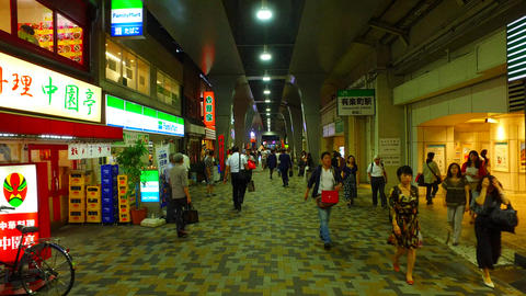 station front of Yurokucho Ginza entrance,Tokyo Japan ライブ動画