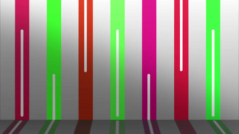 COLOR LINE WALL PINK-GREEN Image