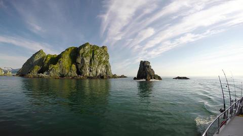 Sea Safari journey along the Kamchatka Peninsula. Russia Live Action