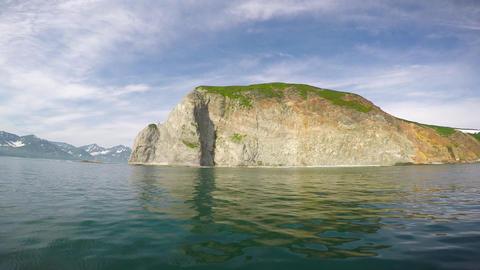 Sea Safari journey along the Kamchatka Peninsula. Russia Footage