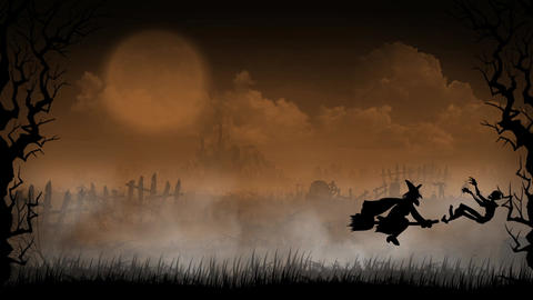Halloween Background 2 Animation