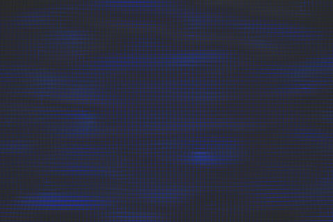 Wavy surface made of cubes with glowing background Foto