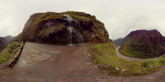 Waterfall Route Banos De Agua Santa Archivo