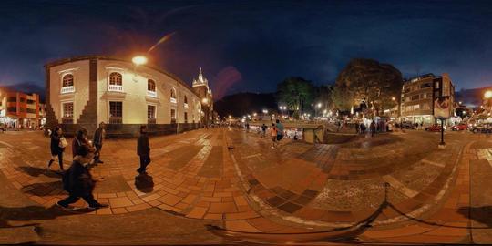 360Vr Banos De Agua Santa Church Square Footage