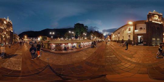 Banos De Agua Santa Church Square Footage