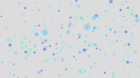 Particles-SNOW CG動画素材