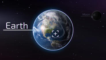 Earth Zoom Plantilla de After Effects