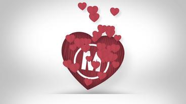 Valentine's Logo Reveal Plantilla de After Effects