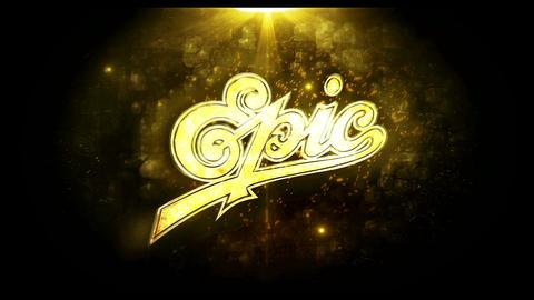 Gold Elegant Logo (Gold) After Effectsテンプレート