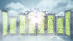 Gates of Heaven Stock Video Footage