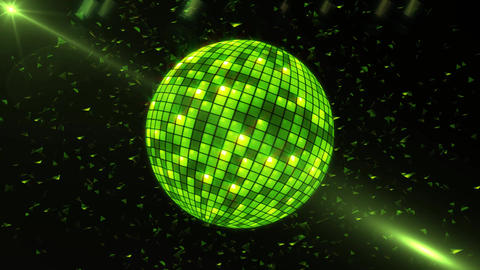 Intense Disco Ball Animation