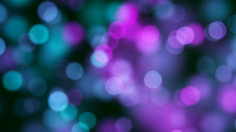 Abstract Loopable Background with nice multicolor bokeh Stock Video Footage
