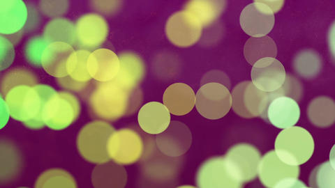 Abstract Loopable Background with nice multicolor bokeh Animation