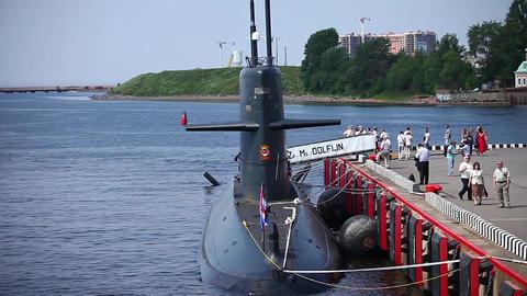 Dutch submarine Dolphin ビデオ