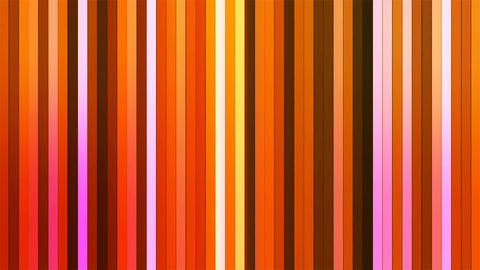 Broadcast Twinkling Vertical Hi-Tech Bars, Orange, Abstract, Loopable, 4K Animation