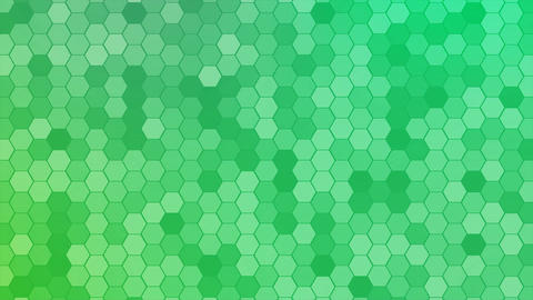 4K Loop Hexagons Mosaic Background Stock Video Footage