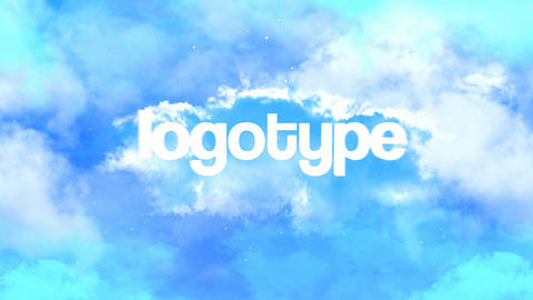 Cloudness Logo Pack 4 in 1 After Effects Template