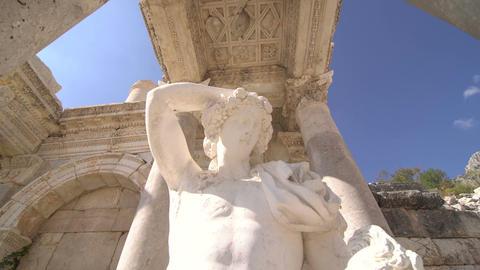 Sagalassos Ancient Ruin August 2017 Footage
