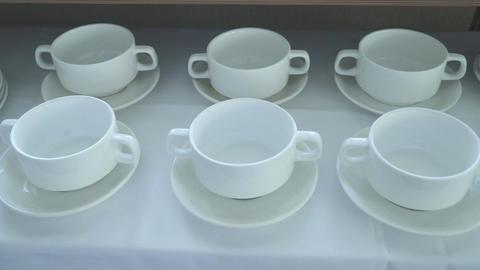 Set of soup bowls Filmmaterial