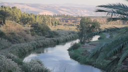 Jordan River View stock footage