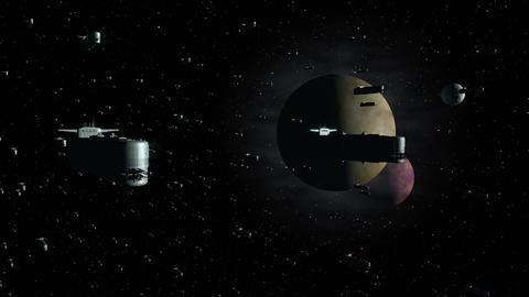 Space Opera: Armada of Battleships 1 Animation